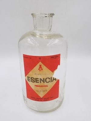 сувенир ПНР эссенция оранжевая, бутылка