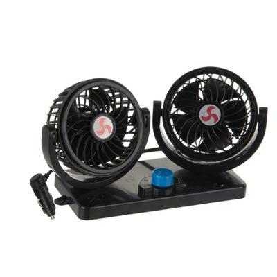 Вентилятор вентилятор поворотный двойной 12V 13W