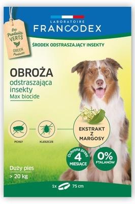 ошейник против клещей Francodex . Собаки более 20 кг