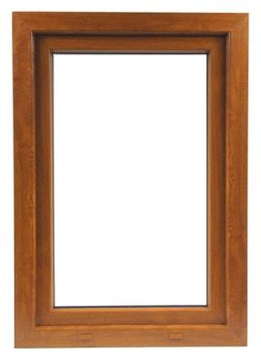 PVC okno, 100 X 100 / 1000 x 1000 SK 1 x ZLATÝ DUB