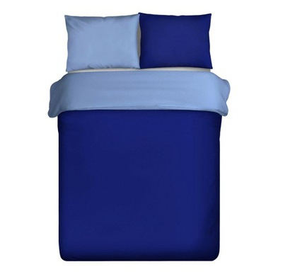 Posteľná bielizeň 160x200 Nova, tmavo modrá, modrá d