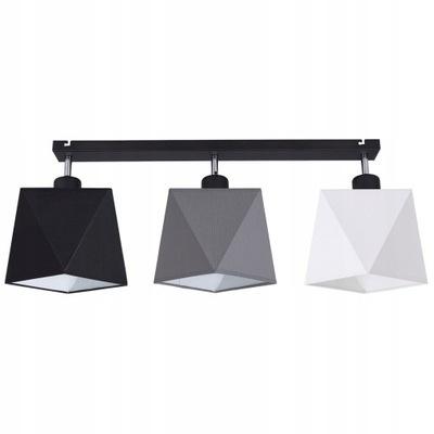 LAMPA WISZĄCA ŻYRANDOL SUFITOWA PLAFON DIAMENT LED