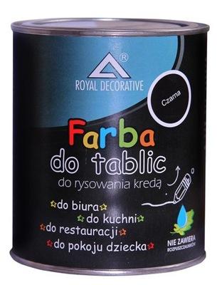 FARBA TABLICOWA DO TABLIC CZARNA 0,75L Producent