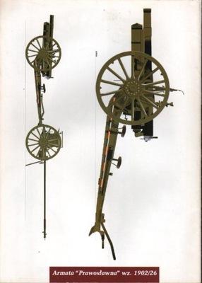 Arm. Prawosławna, Bofors, Granatnik wz36, Taczanka