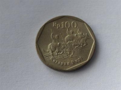 [6103] Индонезия 100 рупий 1993 года.  . 1 -