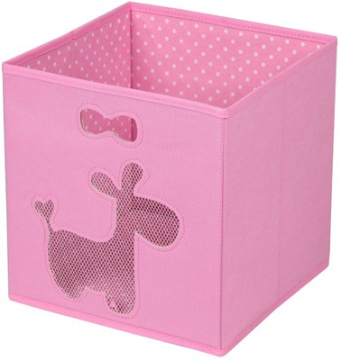 коробка ЕМКОСТЬ на игрушки ROSE ослик 27x27x28
