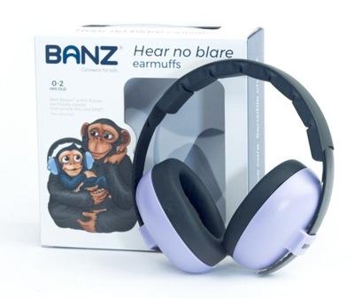 Slúchadlá zvuk-dôkaz, ochranné pre Deti 0+ Banz