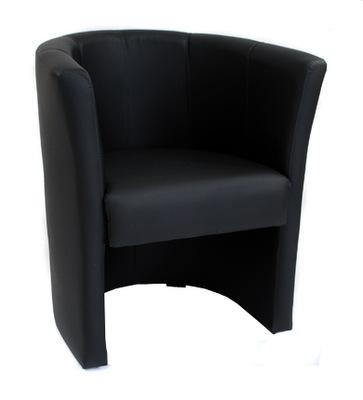 Кресло Ов Экокожа Pub Салон Клуб Черный