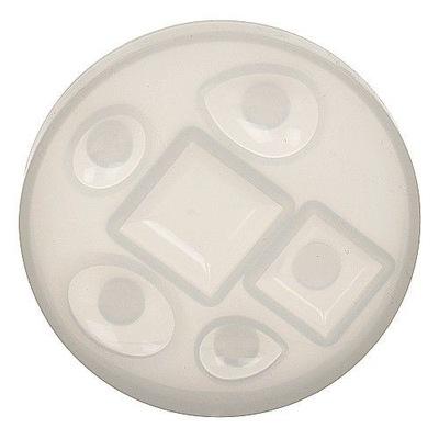 BFS03 Форма прессформа силиконовая для смол 6 ОБРАЗЦОВ