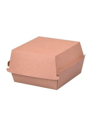 Емкость коробка burger box Крафт XXL (50sz)