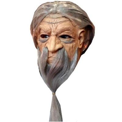 Karnevalový kostým, maska - MASK pre MAGIC čarodejníka MAGA fúzy BRODA