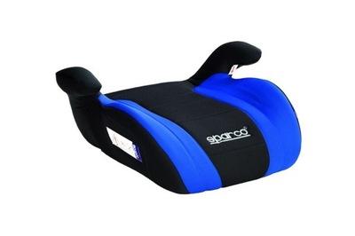 Sídlo auto Sedačku SPARCO F100K modrá čierna