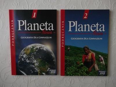 PLANETA NOWA GEOGRAFIA 1 i 2 PODRĘCZNIK GIMNAZJUM