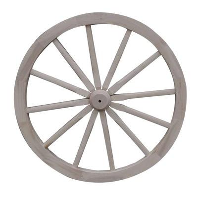 Koliesko drevený vozík kolesa 71 cm masívne dekorácie