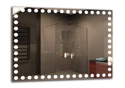 зеркало ванной LED 80x60 см | премиум M1ZP-Instagram семь