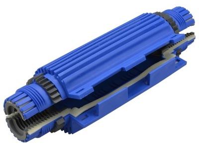 Spojka káblovej spojky gél spojky 3x1. 5-6 mm IP68