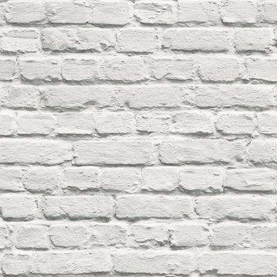 белая Кирпич Стена камень ОБОИ КАК 3D НОВИНКА 102539