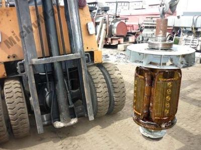 tył prądnicy szczotki GCP 20kVA do PAD16 Ifa 16kW