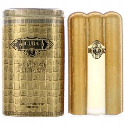 Perfumy Męskie Cuba Prestige Black 90 Ml 7447138703