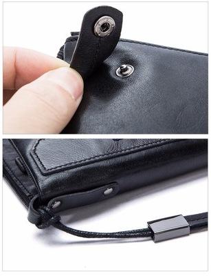 95c8dc8548b83 Męski portfel skórzany długi Czarny - 5294461964 - oficjalne ...