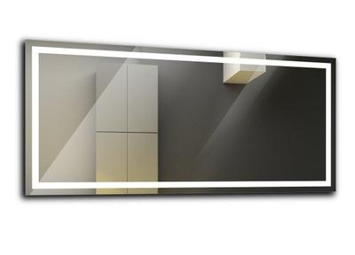 зеркало с подсветкой для ванной комнаты LED 80x60 Атланта