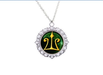 Naszyjnik Percy Jackson, medalion
