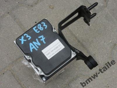 BMW E83 X3 насос ABS 3414388 3414389 6762059 VAT