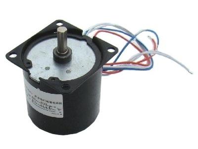 MOTOR 230 V ELEKTRICKÝ 14W 2,5 Rev / min elektrický pohon je elektrické obrancov