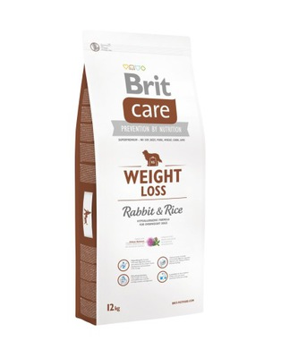 Brit CARE NEW WEIGHT LOSS RABBIT & RICE 12КГ