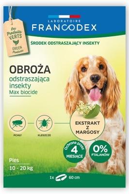 воротник против клещей Francodex . Собака 10 -20 кг
