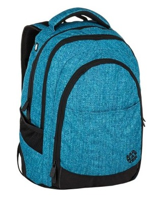 8678e68392ed0 Plecak Bagmaster trzykomorowy DIGITAL 0215 C BLACK - 7283539299 ...