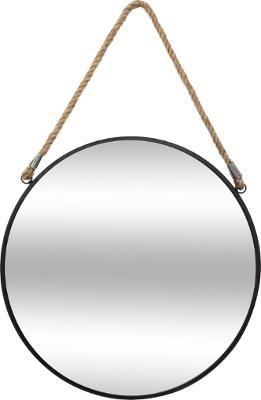 зеркало Круглые D 40 см 38 черные ПАНЕЛИ LINA шнурок