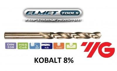 Wiertło FI 16,0 HSSCo8 KOBALT 8% DIN338 YG-1
