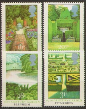 В. Великобритания. Мне 962-65 ** - ботанические Сады