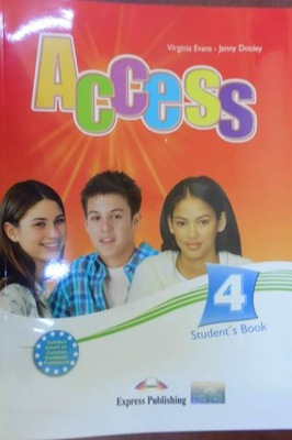 Access 4 Students Book