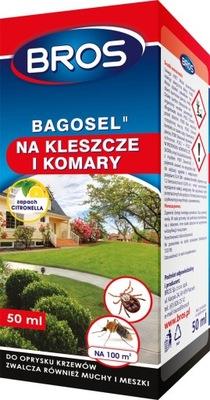BROS Bagosel Oprysk na komary, kleszcze 50ml
