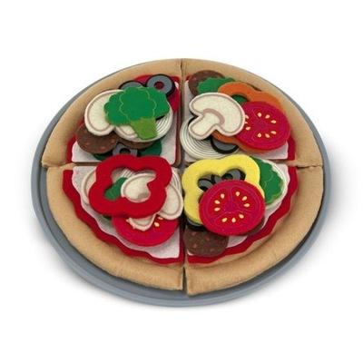 Hračky pre deti Pizza filcowa Melissa Pizzeria