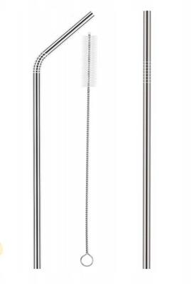 соломинки металлические трубочки эко МНОГОРАЗОВЫЕ 2шт тряпочка