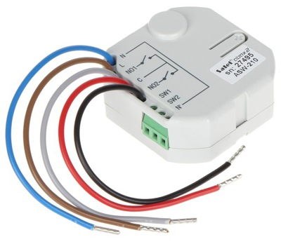 Bezdrôtový ovládač 230 V, Satel ASW-210