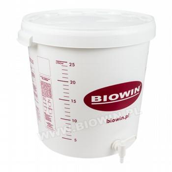 Емкость ферментационный 30 литров с краном и над