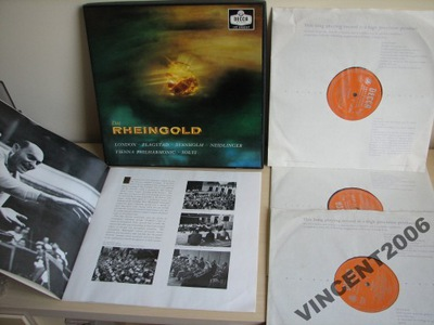 WAGNER DAS RHEINGOLD GEORG SOLTI-LP MONO 1PRESS
