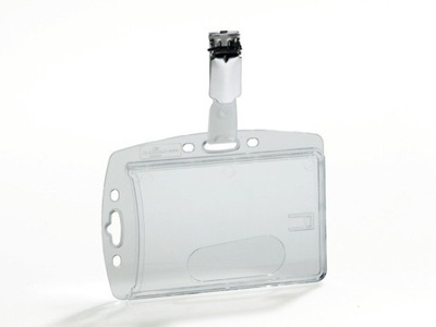 Identyfikator akryl do kart 54x85mm 1szt Durable