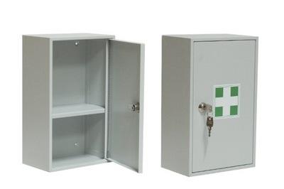 Metalowa apteczka szafka przemysłowa zakładowa