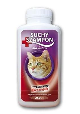 Сухой шампунь с эффектом восстановления и ухода за для кота