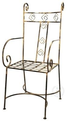 KRZESŁO kute krzesła metaloplastyka wysyłka GRATIS