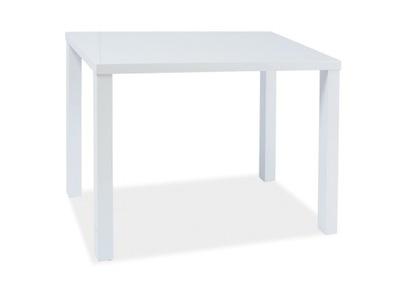 стол Montego Белый 60x80 см высокий блеск