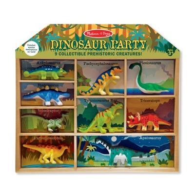 MelissaandDoug Sada figúrky Dinosaurov v krabici
