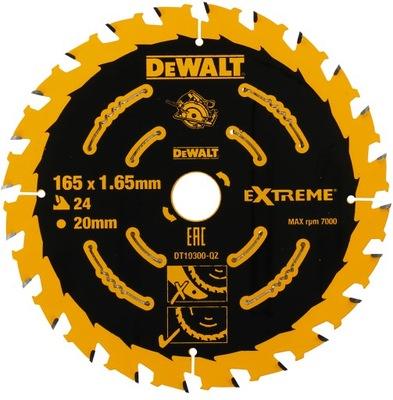 disk na drevo 165mm 24z DeWALT EXTRÉMNE DT10300