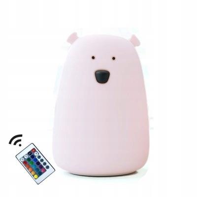 Rabbit&Friends лампа силикон МИШКА Большой пульт Года