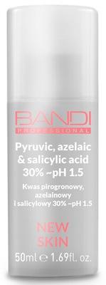 Kwas Pirogronowy,Azelainowy i Salicylowy 30% pH1,5